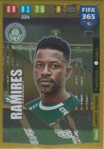 Adrenalyn XL FIFA 365 2020 - 320 Ramires  - Palmeiras - Impact Signing
