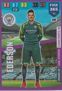 Adrenalyn XL FIFA 365 2020 - 336 Ederson  - Manchester City - Goal Stopper