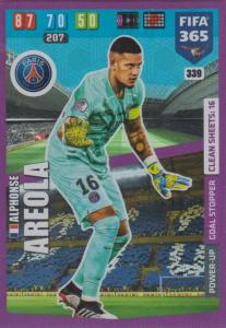 Adrenalyn XL FIFA 365 2020 - 339 Alphonse Areola  - Paris Saint-Germain - Goal Stopper