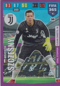 Adrenalyn XL FIFA 365 2020 - 341 Wojciech Szczęsny  - Juventus - Goal Stopper