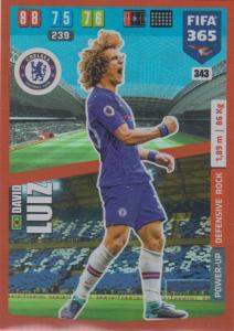 Adrenalyn XL FIFA 365 2020 - 343 David Luiz  - Chelsea - Defensive Rock