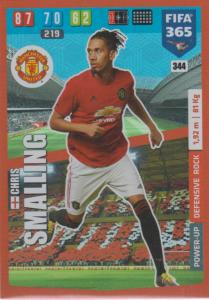 Adrenalyn XL FIFA 365 2020 - 344 Chris Smalling  - Manchester United - Defensive Rock