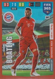 Adrenalyn XL FIFA 365 2020 - 347 Jérôme Boateng  - FC Bayern München - Defensive Rock