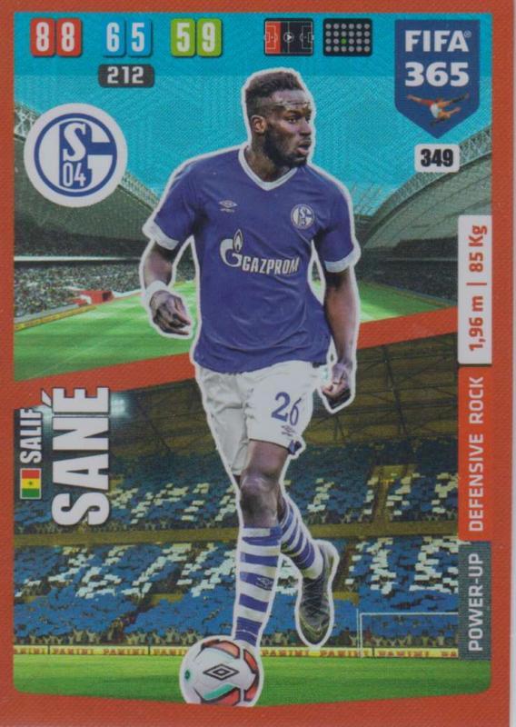 Adrenalyn XL FIFA 365 2020 - 349 Salif Sané  - FC Schalke 04 - Defensive Rock