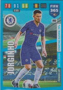 Adrenalyn XL FIFA 365 2020 - 352 Jorginho  - Chelsea - Key Player