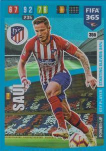 Adrenalyn XL FIFA 365 2020 - 355 Saúl  - Club Atlético de Madrid - Key Player