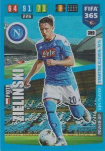 Adrenalyn XL FIFA 365 2020 - 359 Piotr Zieliński  - SSC Napoli - Key Player