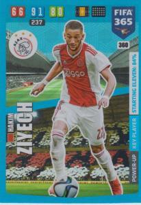Adrenalyn XL FIFA 365 2020 - 360 Hakim Ziyech  - AFC Ajax - Key Player
