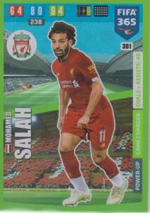 Adrenalyn XL FIFA 365 2020 - 361 Mohamed Salah  - Liverpool - Game Changer