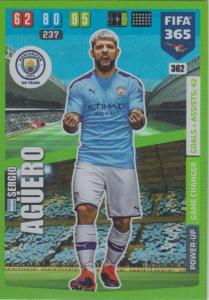 Adrenalyn XL FIFA 365 2020 - 362 Sergio Agüero  - Manchester City - Game Changer