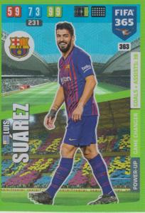 Adrenalyn XL FIFA 365 2020 - 363 Luis Suárez  - FC Barcelona - Game Changer