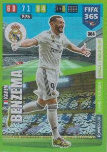Adrenalyn XL FIFA 365 2020 - 364 Karim Benzema  - Real Madrid CF - Game Changer