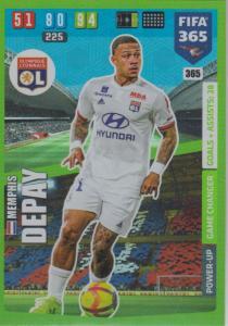 Adrenalyn XL FIFA 365 2020 - 365 Memphis Depay  - Olympique Lyonnais - Game Changer