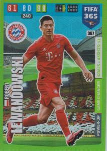 Adrenalyn XL FIFA 365 2020 - 367 Robert Lewandowski  - FC Bayern München - Game Changer