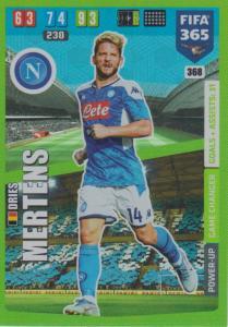 Adrenalyn XL FIFA 365 2020 - 368 Dries Mertens  - SSC Napoli - Game Changer