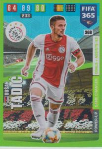 Adrenalyn XL FIFA 365 2020 - 369 Dušan Tadić  - AFC Ajax - Game Changer