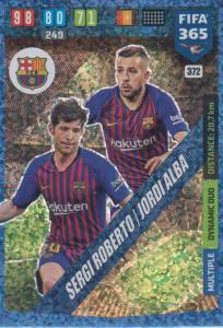 Adrenalyn XL FIFA 365 2020 - 372 Sergi Roberto / Jordi Alba - FC Barcelona - Dynamic Duo