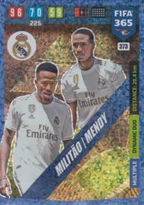 Adrenalyn XL FIFA 365 2020 - 373 Éder Militão / Benjamin Mendy - Real Madrid CF - Dynamic Duo
