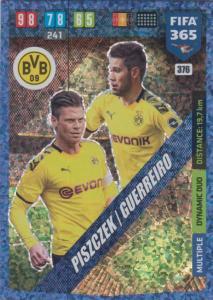 Adrenalyn XL FIFA 365 2020 - 376 Łukasz Piszczek / Raphaël Guerreir - Borussia Dortmund - Dynamic Duo
