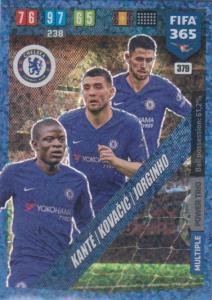 Adrenalyn XL FIFA 365 2020 - 379 Kante / Kovačic / Jorginho - Chelsea - Power Trio