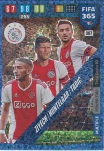 Adrenalyn XL FIFA 365 2020 - 387 Ziyech / Huntelaar / Tadić  - AFC Ajax - Power Trio