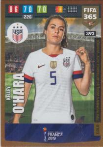 Adrenalyn XL FIFA 365 2020 - 392 Kelley O'Hara  - United States - FIFA Women's World Cup Winner