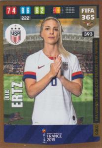 Adrenalyn XL FIFA 365 2020 - 393 Julie Ertz  - United States - FIFA Women's World Cup Winner