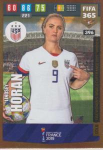 Adrenalyn XL FIFA 365 2020 - 396 Lindsey Horan  - United States - FIFA Women's World Cup Winner