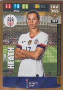Adrenalyn XL FIFA 365 2020 - 397 Tobin Heath  - United States - FIFA Women's World Cup Winner
