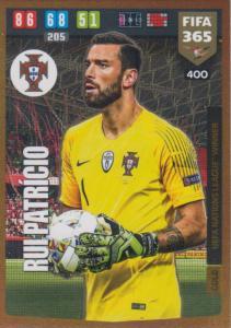 Adrenalyn XL FIFA 365 2020 - 400 Rui Patricio  - Portugal - UEFA Nations League Winner
