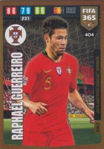 Adrenalyn XL FIFA 365 2020 - 404 Raphael Guerrero  - Portugal - UEFA Nations League Winner