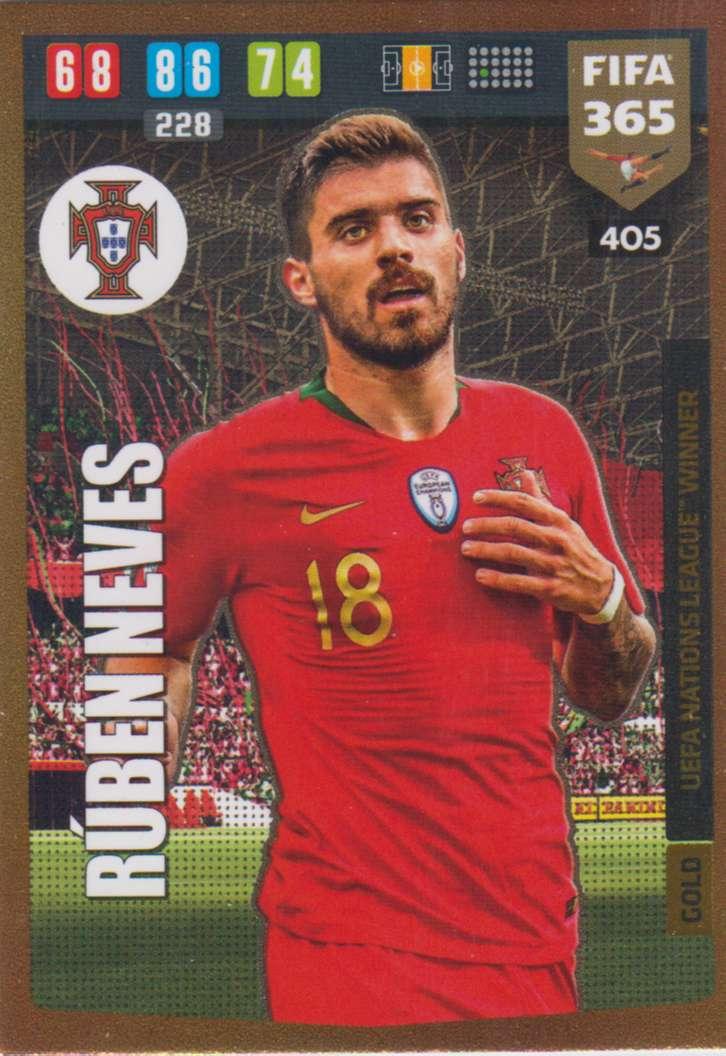 Adrenalyn XL FIFA 365 2020 - 405 Ruben Neves - Portugal ...