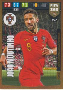 Adrenalyn XL FIFA 365 2020 - 407 João Moutinho  - Portugal - UEFA Nations League Winner