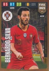 Adrenalyn XL FIFA 365 2020 - 409 Bernardo Silva  - Portugal - UEFA Nations League Winner