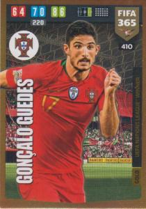 Adrenalyn XL FIFA 365 2020 - 410 Gonçalo Guedes  - Portugal - UEFA Nations League Winner