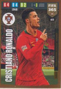 Adrenalyn XL FIFA 365 2020 - 411 Cristiano Ronaldo  - Portugal - UEFA Nations League Winner