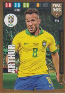 Adrenalyn XL FIFA 365 2020 - 416 Arthur  - Brazil - Copa America Brasil 2019 Winner