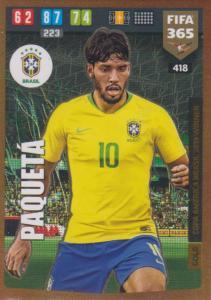 Adrenalyn XL FIFA 365 2020 - 418 Paqueta  - Brazil - Copa America Brasil 2019 Winner