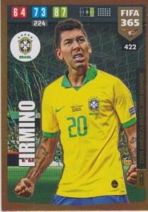 Adrenalyn XL FIFA 365 2020 - 422 Roberto Firmino  - Brazil - Copa America Brasil 2019 Winner