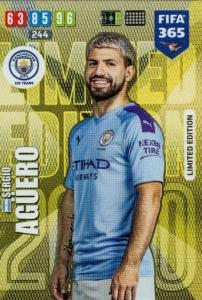 Adrenalyn XL FIFA 365 2020 - Sergio Agüero (Manchester City)  - Limited Edition