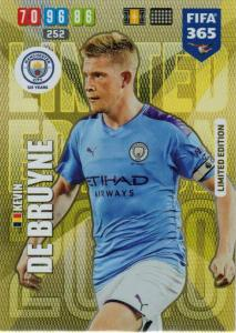 Adrenalyn XL FIFA 365 2020 - Kevin De Bruyne (Manchester City)  - Limited Edition