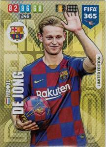 Adrenalyn XL FIFA 365 2020 - Frenkie de Jong (FC Barcelona)  - Limited Edition
