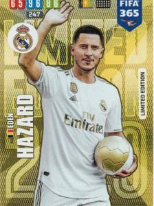Adrenalyn XL FIFA 365 2020 - Eden Hazard (Real Madrid CF)  - Limited Edition