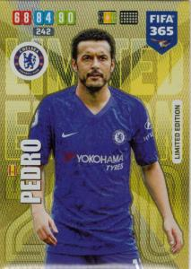 Adrenalyn XL FIFA 365 2020 - Pedro (Chelsea)  - Limited Edition