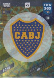 FIFA365 17-18 010 Club Badge Boca Juniors - Club Badge - Boca Juniors