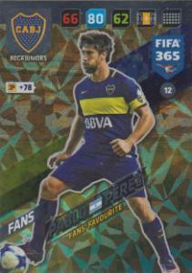 FIFA365 17-18 012 Pablo Pérez - Fans' Favourite - Boca Juniors