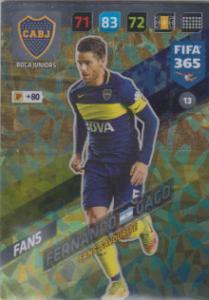 FIFA365 17-18 013 Fernando Gago - Fans' Favourite - Boca Juniors