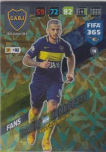 FIFA365 17-18 014 Darío Benedetto - Fans' Favourite - Boca Juniors