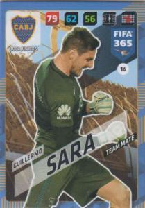 FIFA365 17-18 016 Guillermo Sara - Team Mate - Boca Juniors