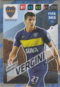 FIFA365 17-18 017 Santiago Vergini - Team Mate - Boca Juniors